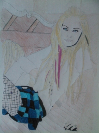 Avril Lavigne by angeltelimi23